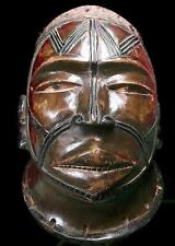 Old Tribal Makonde Lipico Helmet Mask       ----- Tanzania  BN 11