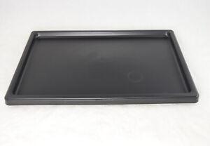 "Japanese Black Plastic Humidity / Drip Tray for Bonsai Tree 13.25""x 9.25""x 0.75"""