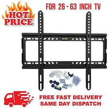 TV Wall Bracket Mount 26 32 36 40 42 46 50 55 63 inch Spirit Level Included LCD