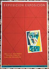 Vera Cortes Exposicion Pinturas Osorio Gonzalez Poster Serigraph Puerto Rico 64