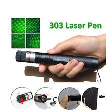 Powerful Green Laser Pointer Pen Visible Beam Light 5mW Lazer High Power 532nm