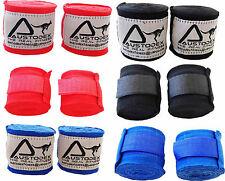 """Austodex Boxing Hand straps/Wraps UFC wrist Guards cotton Bandages 4m MMA new"""""""