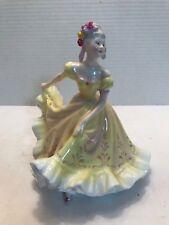 """Royal Doulton Bone China """"Ninette"""" Figurine Made in England Hn 2379 39 J V H"""