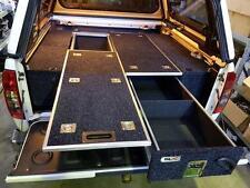 UTE DUAL CAB Drawer System storage With Fridge Slide Dual Battery 4X4 NAVARA