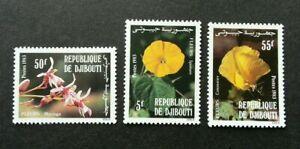 [SJ] Djibouti Flowers 1983 Flora Plant (stamp) MNH