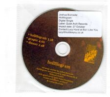 (ID605) Joshua Burnside, Holllllogram - DJ CD