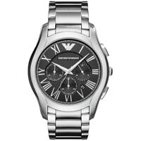 NEW EMPORIO ARMANI MENS CLASS CHRONOGRAPH STEEL WATCH - AR11083 - RRP £319