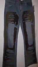 Women's Vigoss Jeans Size 7- 8 LONDON BLUE Retro Boot Cut Stretch  Vintage NWT
