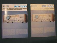 Pioneer SD-1100 Flier 1972 Superb Color Copy, Rare, Seldom-Seen 6pg Document