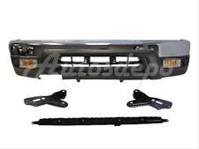 99-02 4RUNNER FRONT BUMPER CHR VALANCE SUPPORT BRACKET SIGNAL LIGHT W/O HOLE 7PC