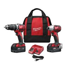 Milwaukee 2697-22 M18 18V Cordless Power Lithium-Ion 2-Tool Combo Kit