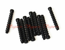 NEW ALLIGATOR V-BRAKE INNER CABLE RUBBER SHIELD PROTECTOR 5MMx35MMx10pcs, BLACK