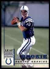 1998 Leaf Rookies & Stars Peyton Manning RC Colts #233