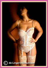 Antique Gold Multiway Basque Underwired Corset by Full-filled size 32C - 46H