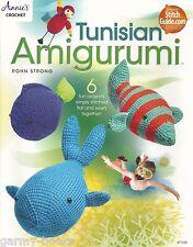 Tunisian Amigurumi Crochet Instruction Patterns Annie's Attic Rohn Strong NEW