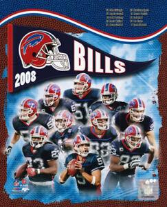 Buffalo Bills 2008 Team Composite 8x10 Photo Marshawn Lynch