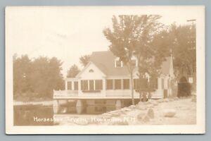Horseshoe Tavern HOPKINTON New Hampshire RPPC Rare Antique—Merrimack County 193