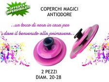 COPERCHIO MAGICO COLORATO IN ALLUMINIO SET 2 PZ. DIAM.20-28