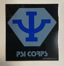 Babylon 5 Psi Corps Sticker 3� X 3� Original Item Sci-Fi Memorbilia