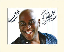 AINSLEY HARRIOTT CHEF PP 8x10 MOUNTED SIGNED AUTOGRAPH PHOTO 2 SECRET SANTA