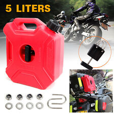 5L Jerry Can Fuel Container Holder Spare Petrol Container Heavy Duty Motor Bike