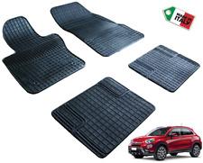 Tappeti Tappetini in gomma su misura per Fiat 500 2 II 2007-2018 set completo