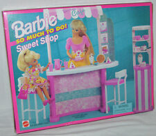 Barbie So Much To Do Sweet Shop Cafe 1995 NEW Mattel Dolls Not Included