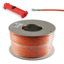 50 m Cat7 Installation cable Network COPPER LAN Abisolierer Cat 7 Kat 7