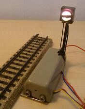 Märklin H0 7042 Signal Gleissperrsignal mit Beleuchtung getestet erstklassig