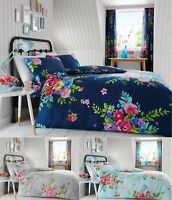 Luxury Floral Duvet Set Pillow Cases Alice Duvet/Quilt Cover Set Bedding Bed Set
