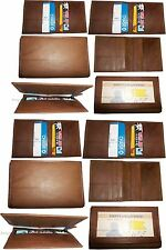 12 Leather business card credit card case ID card ATM card case card holder NWT