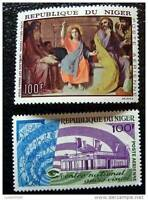 Niger - Stamp - Yvert and Tellier Aerial N°73 & 76 N