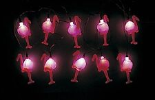 4 Sets FLAMINGO String Lights Pink Luau Tropical Party Strand Decor rv camper