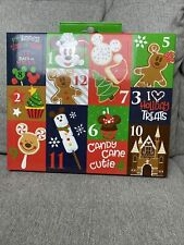 NIB Disney Parks Holiday Food Snack Advent Sock Socks Set Adults 12 pairs Unisex