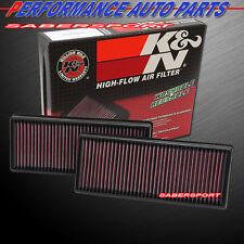 K&N 33-2474 Hi-Flow Air Intake Washable Drop in Filter for Mercedes *See Detail*
