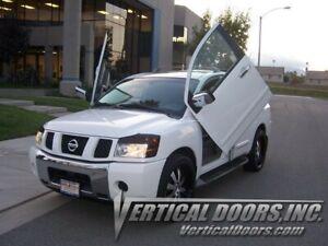 Vertical Doors - Vertical Lambo Door Kit For Nissan Armada 2003-15 -VDCNARM04