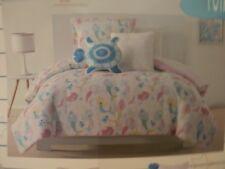 Laura Hart Kids Mermaids Twin 7 piece Comforter Set & sheet set & 2 pillows