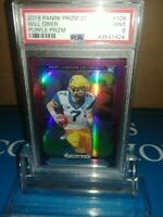 Will Grier 2019 Panini Prizm Draft Picks Purple West Va /Panthers~PSA 9 MINT🔥🏈