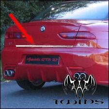 Striscia cromata portellone baule Alfa Romeo 156 profilo cromato portabagagli