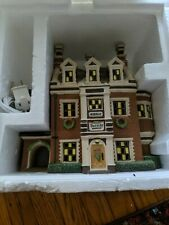 Dept.56 Dickens Village Series Dursley Manor Org. Brochure Of Collection