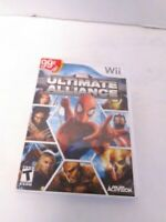 Marvel: Ultimate Alliance (Nintendo Wii, 2006) Disc and Case Tested