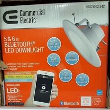Residential /Commercial Electric 5 & 6 in Bluetooth LED Downlight Residential