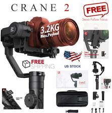Zhiyun Crane 2 3 Axis Handheld Gimbal Stabilizer w Follow Focus for DSLR Camera