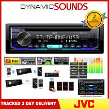 JVC KD-R992BT Car CD MP3 Bluetooth Stereo Radio USB Aux iPod iPhone Android