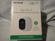 NEW NETGEAR ARLO PRO 2 ADD-ON WIRE FREE CAMERA VMC4030P-100NAS BRAND NEW, SEALED
