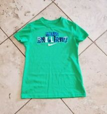 Youth Nike Dri Fit Green Short Sleeve Graphic T-Shirt Size M