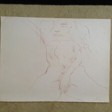 "John Lennon ""Erotic 1"" Original Bag One hand signed lithograph 225/300"