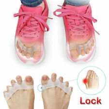 1 Pair Silicone Toe Separator Spreader Correction Pain Relief Hallux Valgus HOT
