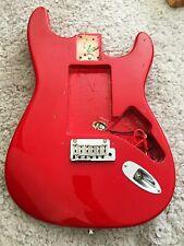 Top USA Fender Standard Stratocaster Korpus Strat Body David Gilmour Style Red