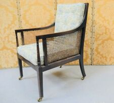 More details for beautiful french 19th century  bergere armchair caned back and sides